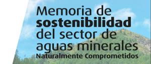 Memoria de sostenibilidad del sector de aguas minerales
