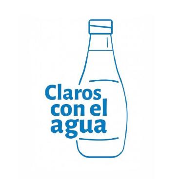 """Logo de la iniciativa """"Claros con el Agua"""""""