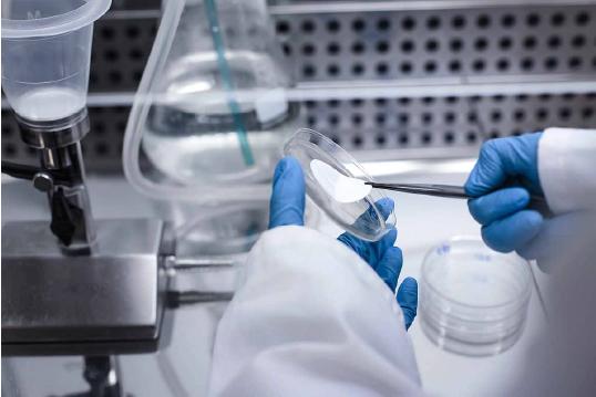 laboratorio midiendo la calidad del agua