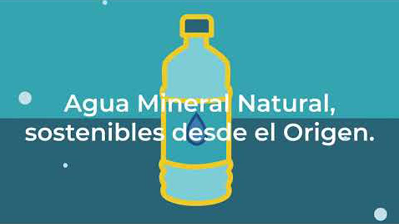 agua mineral natural sotenibles desde el origen