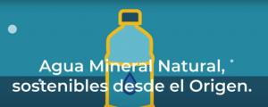 Agua mineral natural sostenibles
