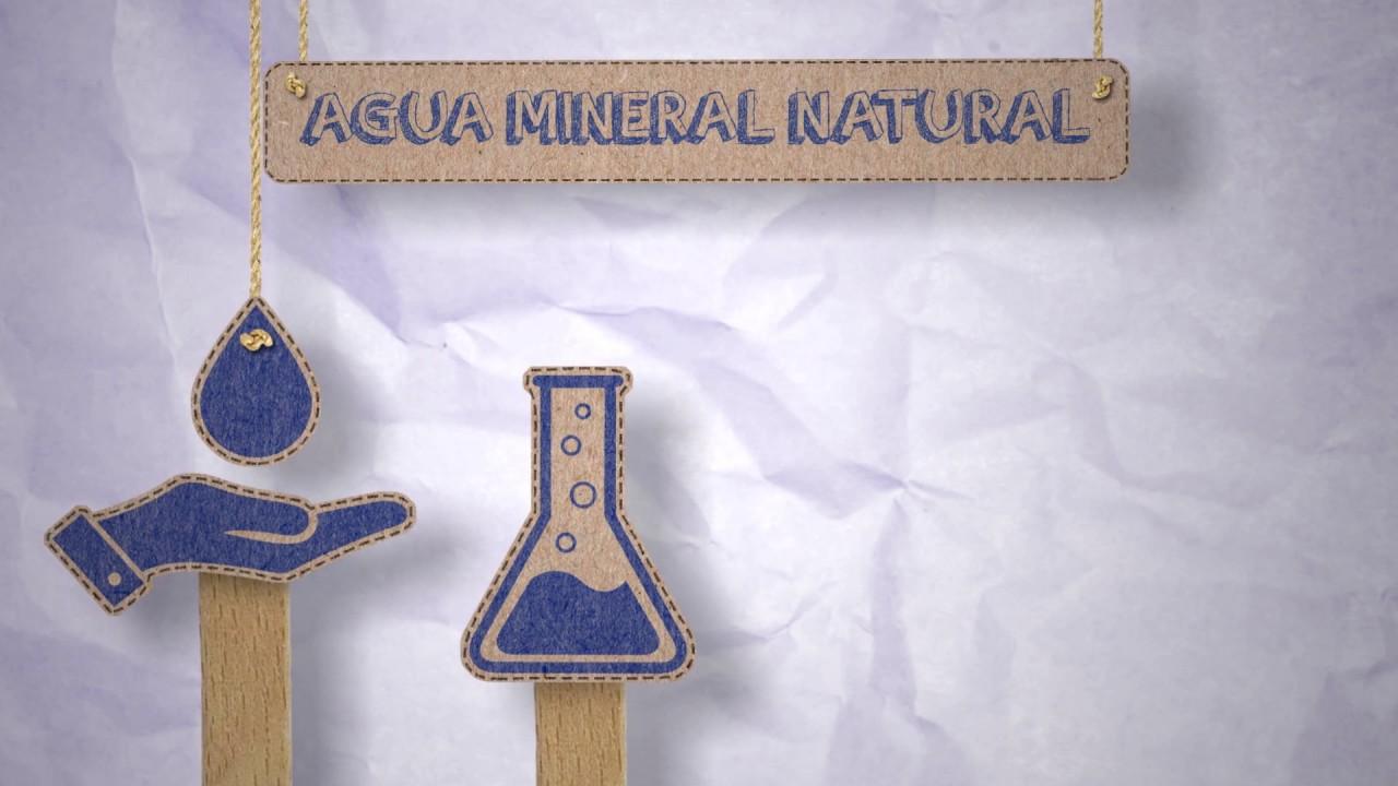 recursos en tela de agua mineral natural