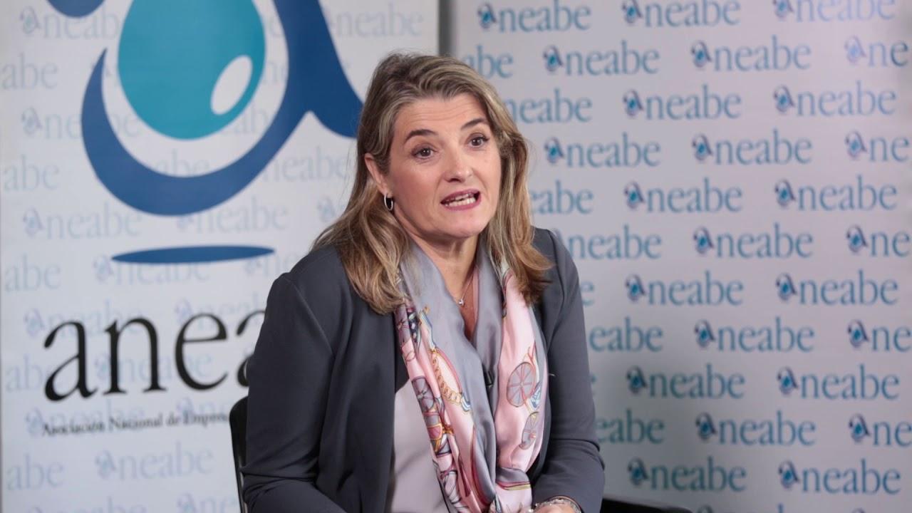 entrevista a la secretaria general de ANEABE