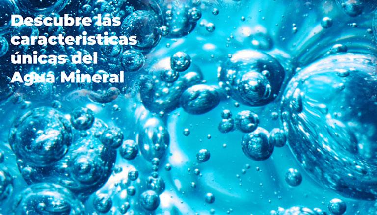 imagen caractaristicas y funciones del agua mineral