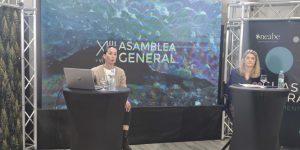 Imagen de Cristina García durante la XLIII de la Asamblea