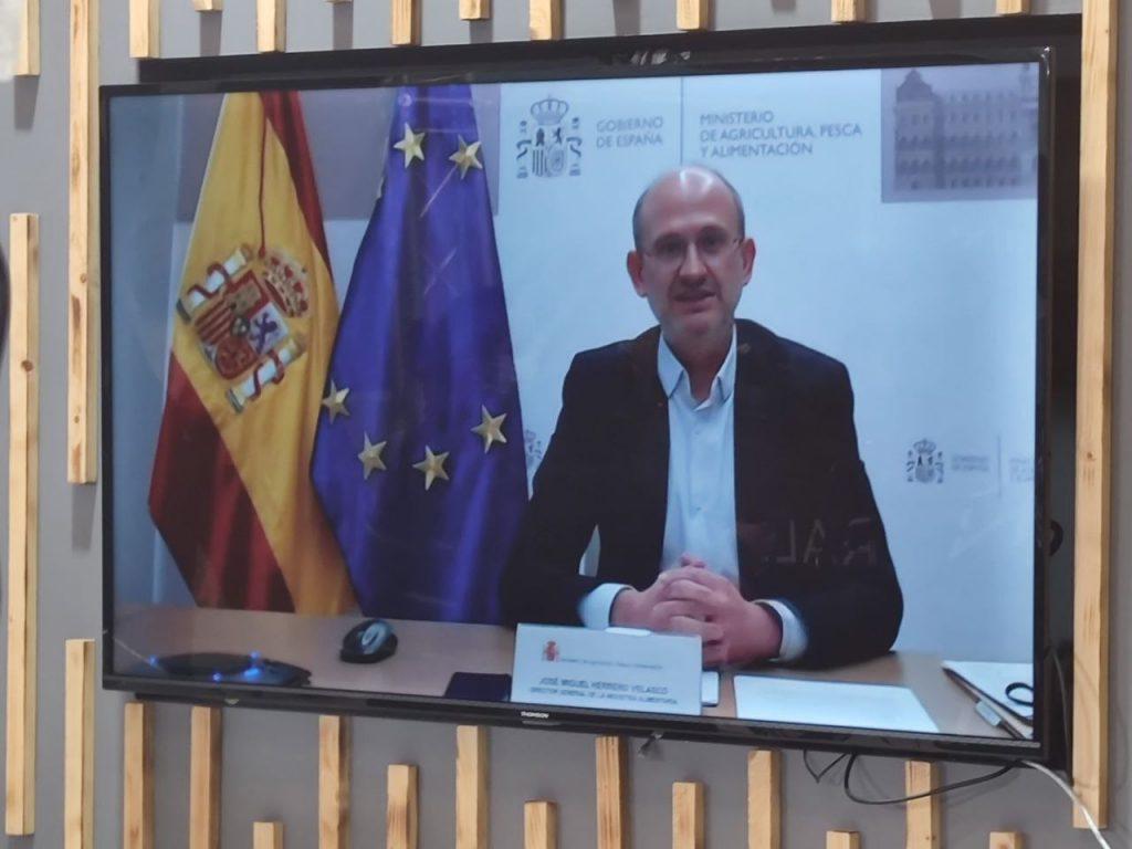 José Miguel Herrero director general de la Industria Alimentaria del Ministerio de Agricultura, Pesca y Alimentación