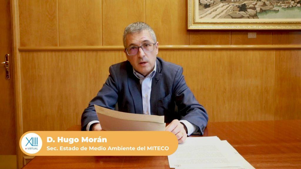 Hugo Morán secretario de estado de medio ambiente del MITECO habla sobre la circularidad de los envases