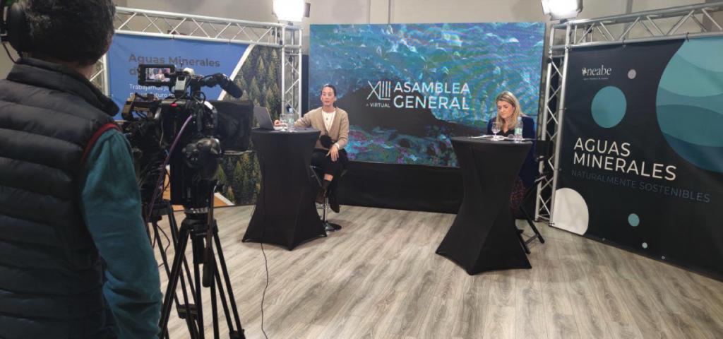 XLIII Asamblea General de ANEABE hablando sobre circularidad