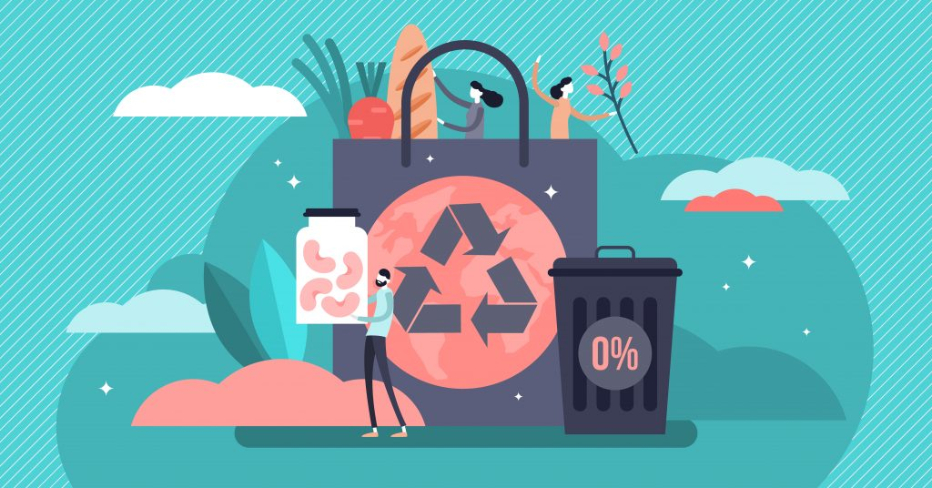 Infografía sobre reciclaje envases agua mineral